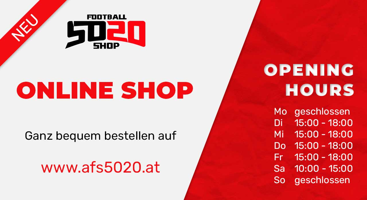 American Football Shop Salzburg Aktion